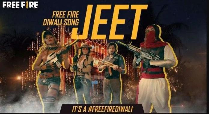 Free Fire Diwali 2020 Song Lyrics