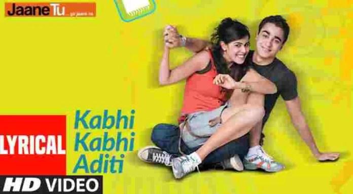 Kabhi Kabhi Aditi Lyrics