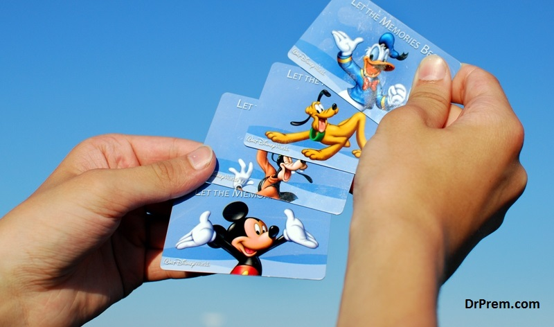 Walt Disney multiple entry passes
