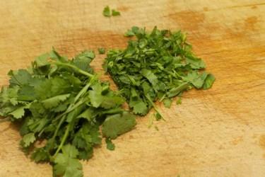 Gele curry met groene groente 24