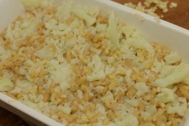 Macaroni met bloemkool en kaas schotel 27
