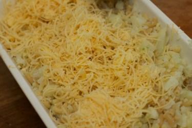 Macaroni met bloemkool en kaas schotel 28