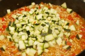 Risotto met Chipolata en veel groente 19