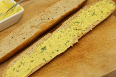 Stokbrood met kip en gele curry 33