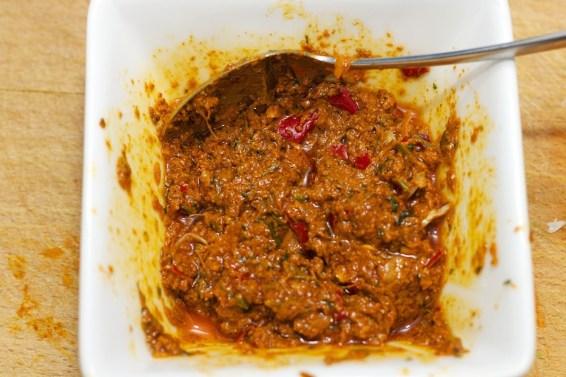 Madras currypasta 16