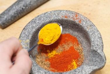 Madras currypasta 6