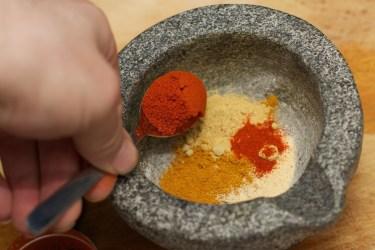 Indiase currysalade 13