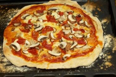 Pizza Funghi 3