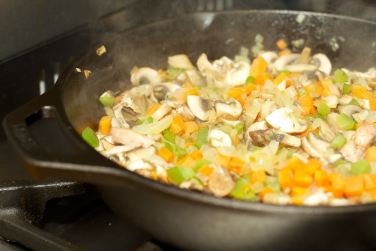 Pasta met vegetarische Ragu 26