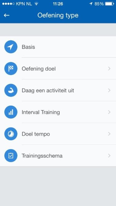 Runtastic Pro app 3
