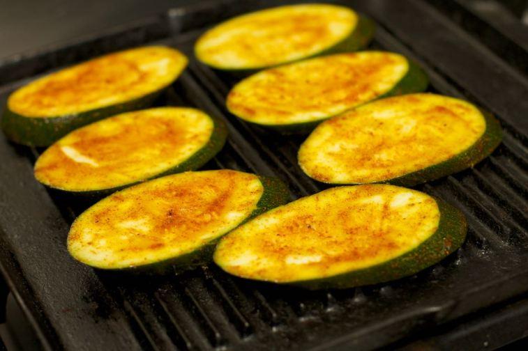 Broodje Thaise kip en gegrilde groente 12