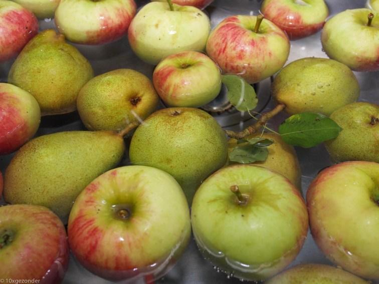 Appels schoonmaken (2 van 7)
