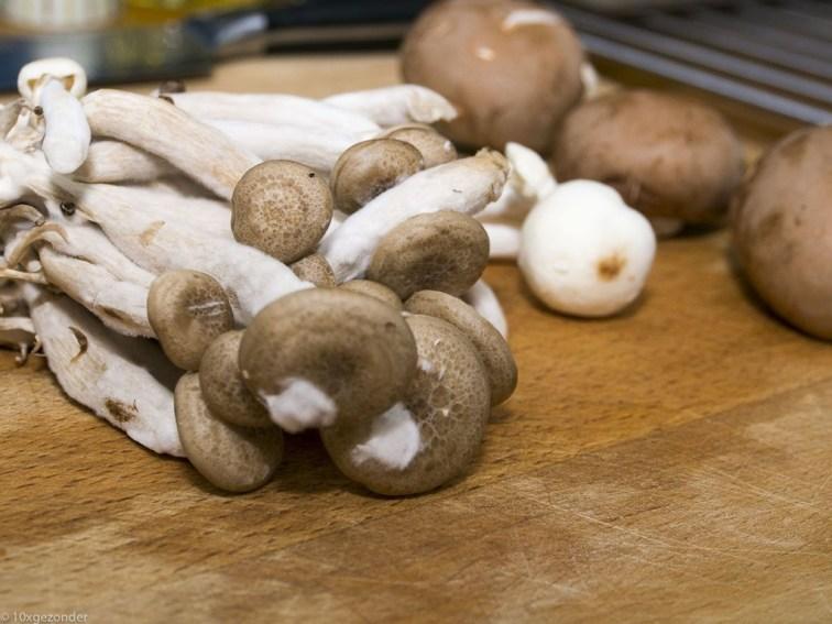 Romige pasta met prei, champignons en spekjes (5 van 40)