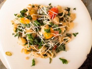Pasta met boerenkool, peper en mascarpone-41