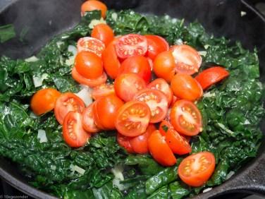 Pasta pesto met palmkool en tomaatjes-28