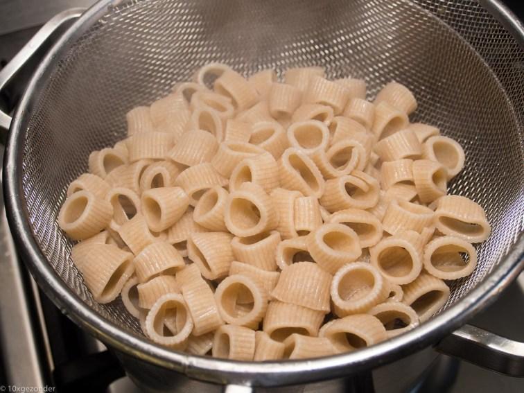Pasta pesto met palmkool en tomaatjes-29