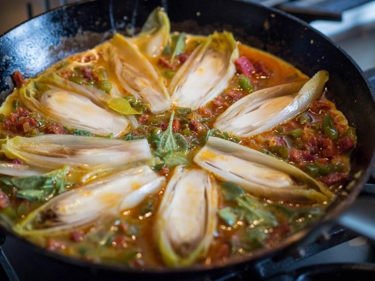 Spaanse tortilla met chorizo en witlof-22