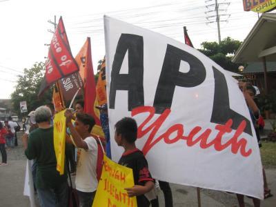APL Youth against BNPP