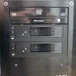 HDD交換をラクにするためハードディスクマウンタを導入!