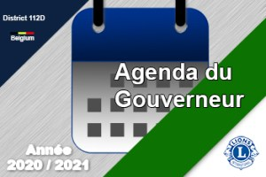 agenda gouverneur