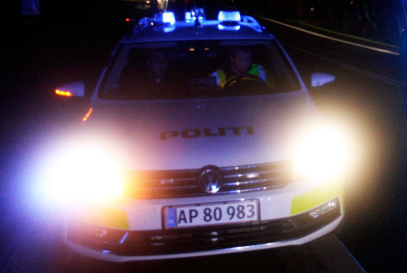politibil, politi, 112, krimi, 112news.dk