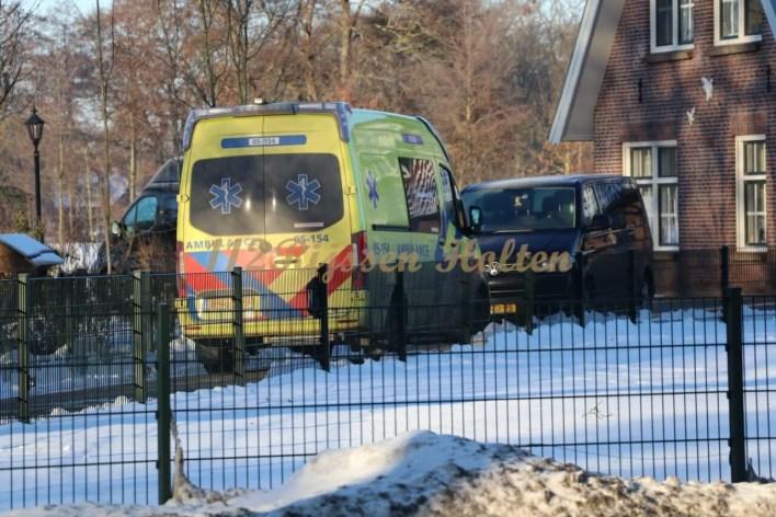 Geesteren- man (40) overleden bij noodlottig ongeval.