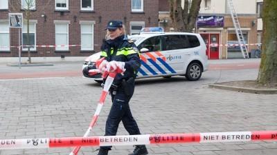 politiewagen met spoed