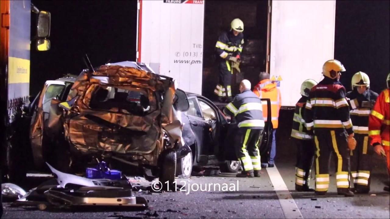 Ernstig ongeval op de A50 bij Nistelrode.