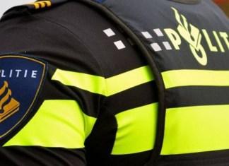 Achterkant uniform politie