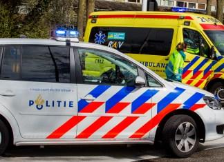 Politie met ambulance