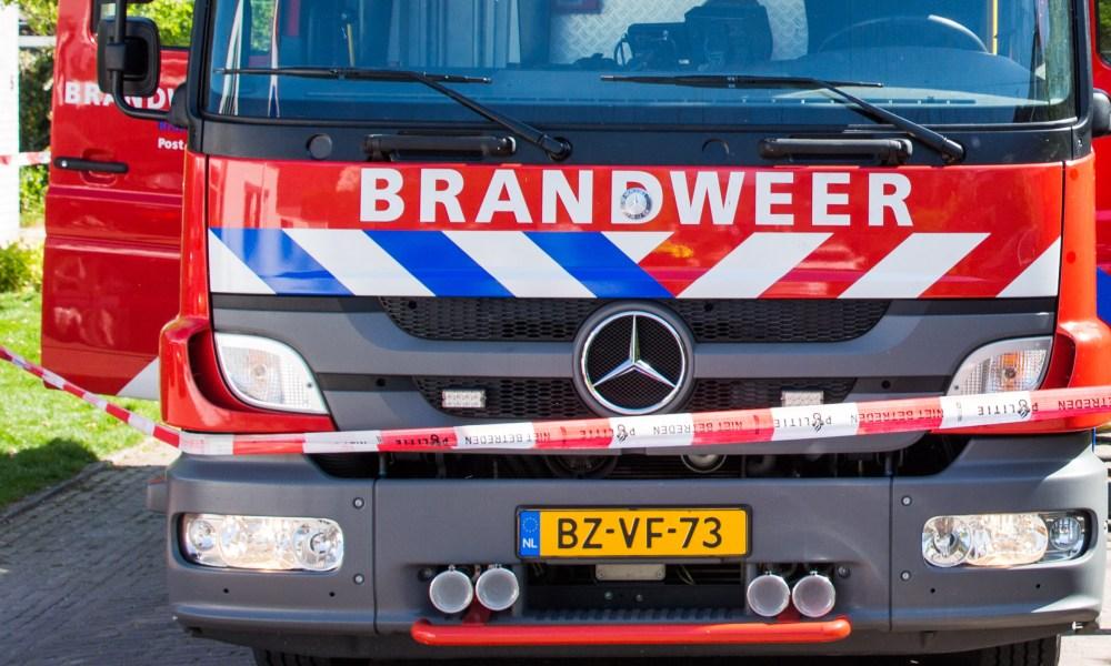Brandweerman overlijdt bij ongeluk in liftschacht.