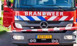 voorkant brandweerwagen