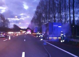 vrachtwagenbrand A2
