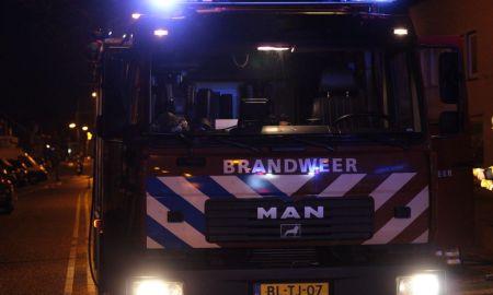 Brandweer ter plaatsen bij een brand