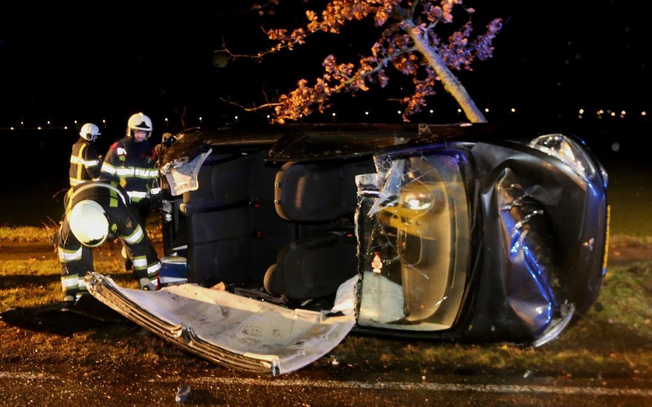 Gewonde bij ongeval Berlicum.