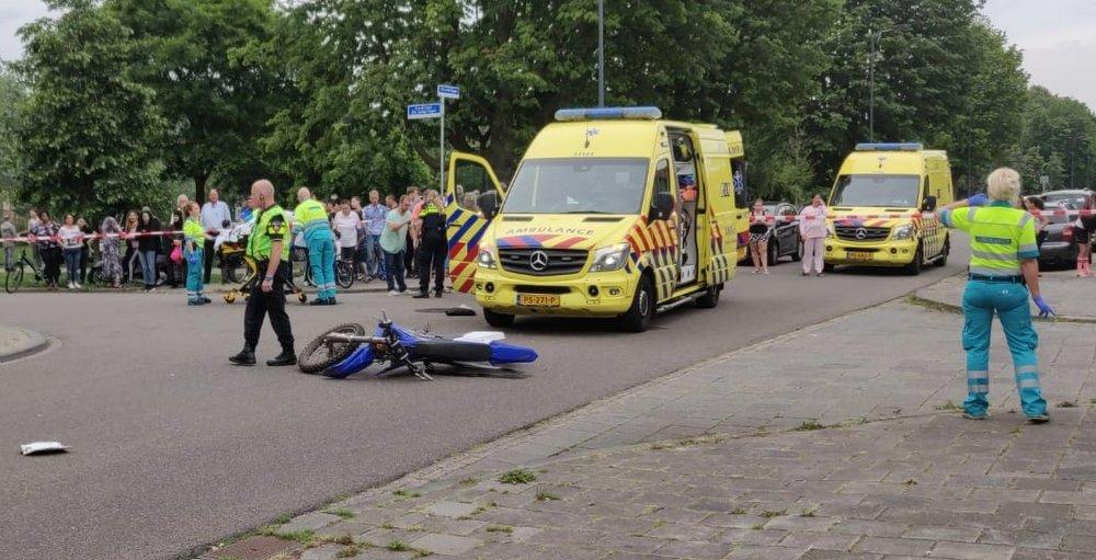 Man aangehouden voor ernstig ongeval vorig jaar met crossmotor in Den Bosch.