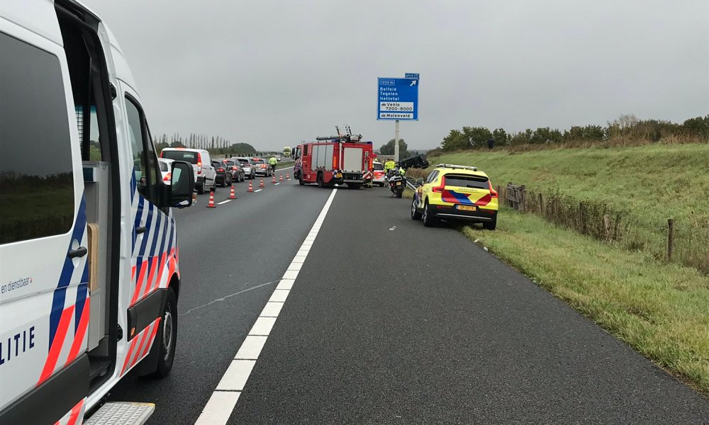 Twee doden en meerdere gewonden bij ongeval op A73.
