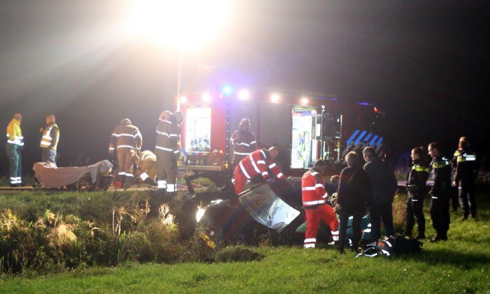 Bestuurster zwaargewond na ongeval in Rosmalen.