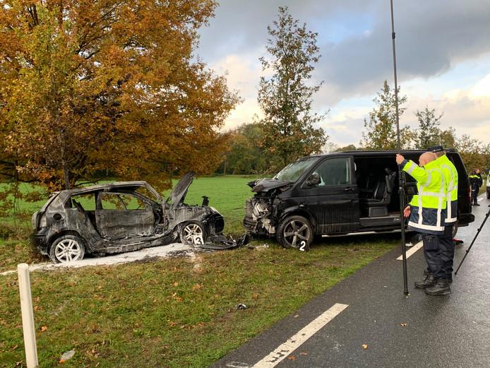 Ernstig ongeval op de N617 bij Sint-Michielsgestel.