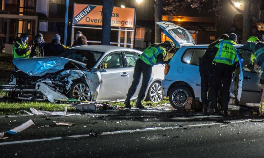Meerdere gewonden bij ernstig ongeval op de N276.