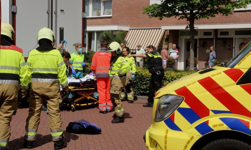 Bromfietser gewond na ongeval met vrachtwagen in Rosmalen.