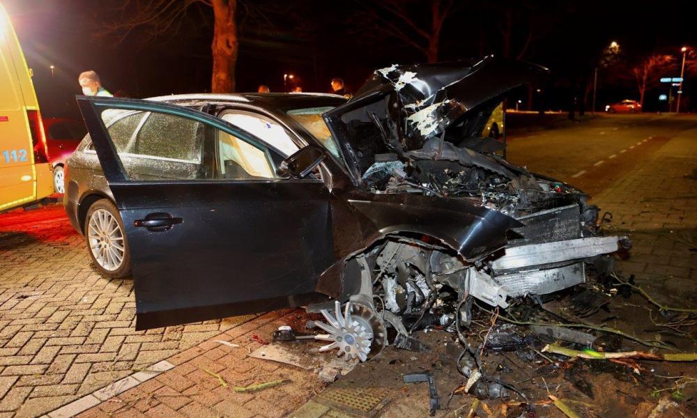 Vrouw gewond bij ongeval in Vlijmen.