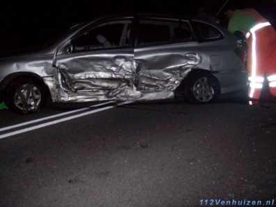 Veel schade aan de auto