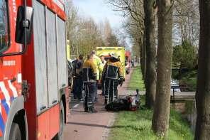 Hulpdiensten bij het ongeval