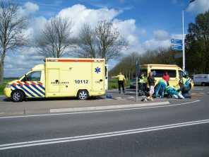 Ambulancedienst ter plaatse