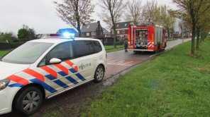 fPolitie en brandweer ter plekke