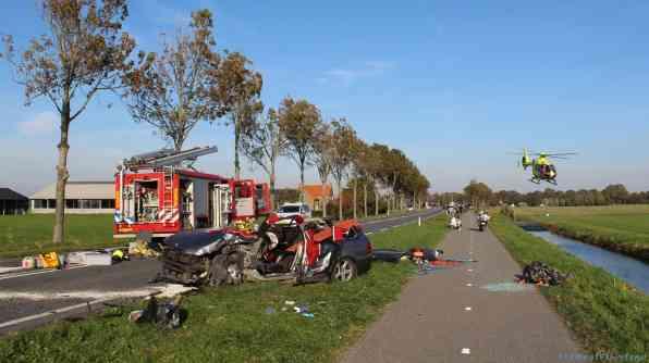 Ongeval, veel schade