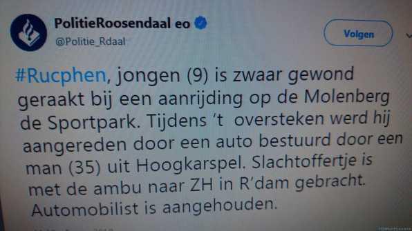 Tweet politie