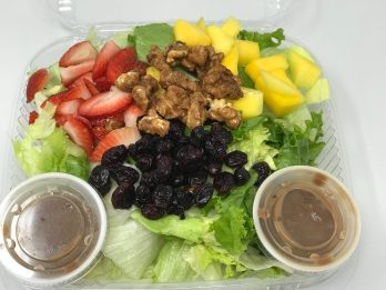 The 1132 Salad as Entree size $8.90