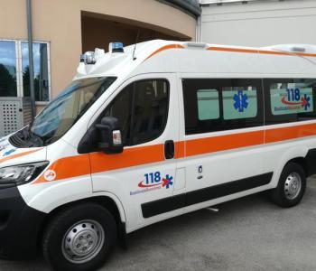 Sanità: una nuova ambulanza del 118 Basilicata soccorso